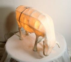 love this little sheep lamp.