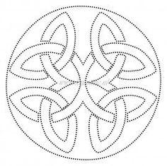 Candlewicking Design Sashiko Embroidery, Paper Embroidery, Japanese Embroidery, Hand Quilting Patterns, Embroidery Patterns, Punched Tin Patterns, Candlewicking Patterns, Celtic Patterns, Prego