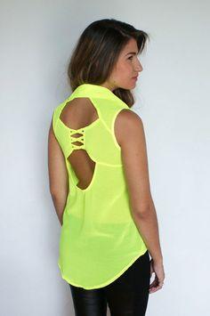 #Neon #cutouts #summertrends