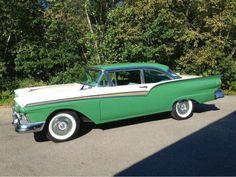 1957 Ford Fairlane 500.....looks brand new.....