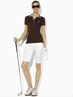 I would wear this. Huntley Cotton Polo - Ralph Lauren Golf Polos - Ralph Lauren France