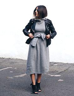 11 Ways to Wear a Cozy Sweater Dress -- The Cut