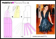 Mariana Rios   vestido