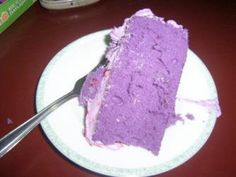 UBE CHIFFON CAKE (Photo courtesy of Admin L of FB Fan/Group Page of Hindi Porket Nasa Abroad MAYAMAN NA)