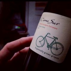 Cono sur wine label