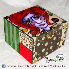 """Caja Mágica """"Lola Bolitas"""" www.facebook.com/Yakarte"""
