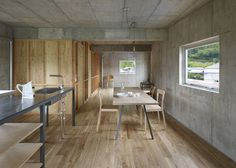 House in Yagi containing an indoor courtyard by Suppose Design Office