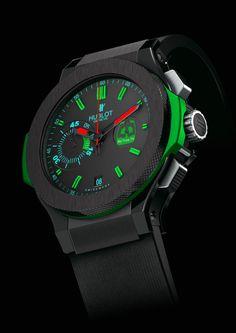 Modified Hublot-Watch without screws