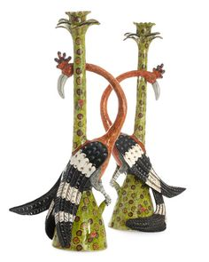 South African artists create whimsical accessories that incorporate the animals of their native country.