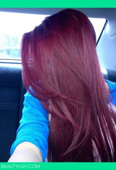 i always vow never to dye my virgin hair...but if i did...ugh this color is gorgeous