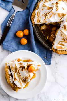 Mile high meringue gooseberry pie. This pie is so delicious and wonderfully unique. A new favorite in our family.