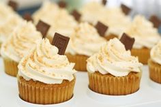 S'mores cupcakes!  Yum!