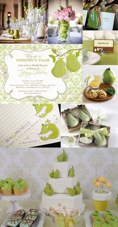 Perfect Pair bridal shower theme pre-wedding party