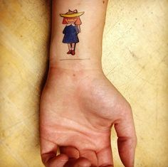 Amazing Tattoos Inspired by Children's Books: Madeline, also do Max from where the wild things are. Is there a Sara??