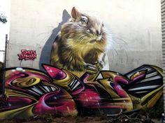 Street art by Smugone