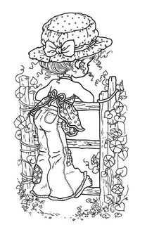 Sarah Kay Online Coloring Pages Printable Book For Kids
