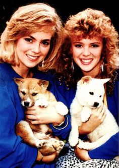Jane & Charlene  #Neighbours #OldSkoolNeighbours #KylieMinogue #AnnieJones