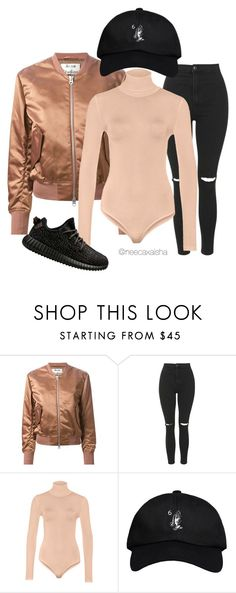 """""""Untitled #32"""" by neecaxaisha on Polyvore featuring Acne Studios, Topshop, October's Very Own and adidas"""