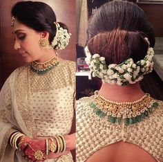 Wedding hairstyles with flowers updo the dress Super Ideas Indian Wedding Hairstyles, Bride Hairstyles, Hairstyles With Lehenga, Hairstyle Ideas, Wedding Hair Flowers, Flowers In Hair, Dress Wedding, Moda Indiana, Look 2018