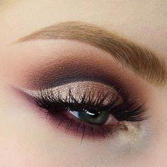 Logra un look que dure toda la noche con Makeup Geek. #Sombras #ojos