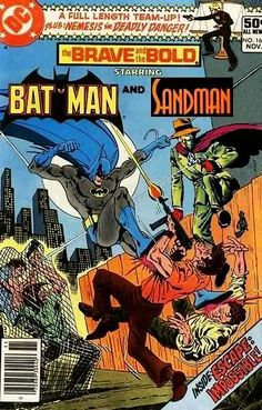 Super-Team Family: The Lost Issues!: Batman and The Sandman (Wesley Dodds)