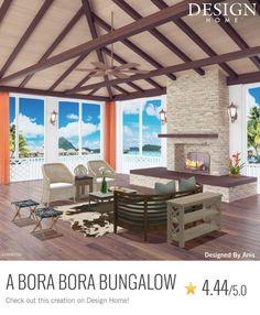 My Home Design, My Design, House Design, Bora Bora Bungalow, Gazebo, Pergola, Outdoor Furniture Sets, Outdoor Decor, Outdoor Structures