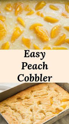 Canned Peach Cobbler Recipe, Peach Cobbler Cheesecake Recipe, Homemade Peach Cobbler, Fresh Peach Cobbler, Fruit Cobbler, Recipe For Canned Peaches, Peach Cobbler Dump Cake, Southern Peach Cobbler, Dump Cake Recipes