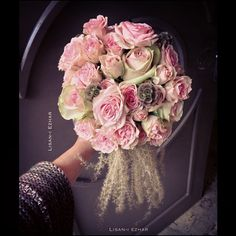 #bridal #bouquet #gelin #cicegi #thisweek #myfav #parisien #fluffy #pastel #pale #pink #vintage #antique #gorgeous #fillsmyheartwithhappines...