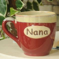 my favorite coffee cup... given to me by my favorite g-kids ♥
