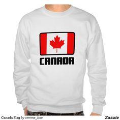 Canada Flag Sweatshirt.