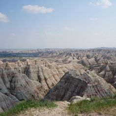 Badlands National Park in South Dakota. We got so many great shots at the park, I had to share another one. It's an incredible place!