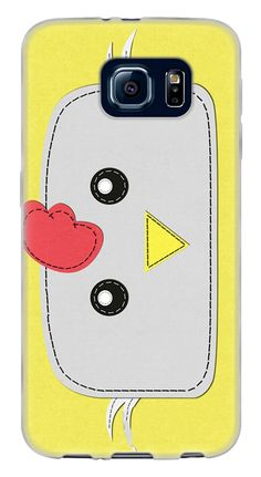 Amazon.com: Yellow, Red and White {Cute Farm Animals Chicken} Soft and Smooth Silicone Cute 3D Fitted Bumper Back Cover Gel Case for Samsung Galaxy S6: Cell Phones & Accessories