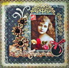 Vintage Photo ***HEARTFELT CREATIONS*** - Scrapbook.com
