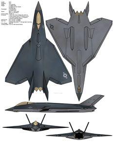 YF-38 by cyberneticCaveMan.deviantart.com on @DeviantArt