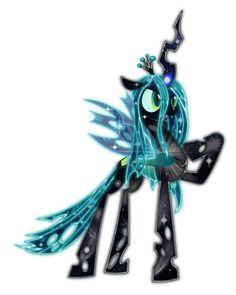 Queen Chrysalis by Sylphastiel.deviantart.com on @deviantART Little Sis, Mlp My Little Pony, My Little Pony Friendship, Crystal Ponies, Queen Chrysalis, Mlp Memes, Nightmare Moon, Best Villains, Princess Celestia