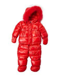 aa9377b69b4d Michael Kors Newborn Infant Girls) Hooded Pram Snowsuit ...