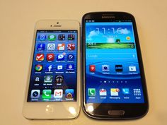 iPhone 5 vs. Samsung Galaxy S3 Review #Attmobilereview