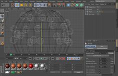 Awesome motion graphic works and they share their cinema 4d source files as well.