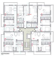 Plan Story Unit Apartment Building Apartments