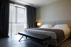 Boutique and Design hotel with 77 rooms in a refined and elegant environment.  http://www.egohotelancona.it/en/
