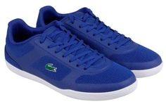 Lacoste Court Minimal Sport Dark Blue Mens Athletic Training Shoes