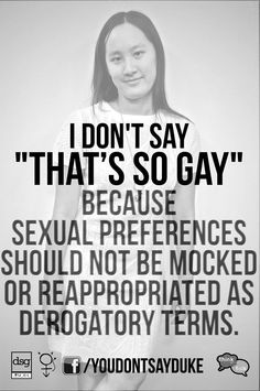 "The ever changing definition of ""GAY""."