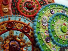 Buttons, beads and circles