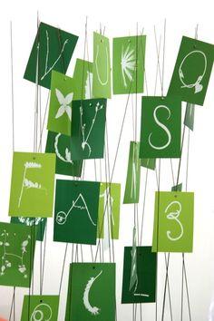 Nachhaltige Typo-Postkarten von Katja M. Becker und Wanja Schnurpel