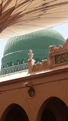Mescidi nebevi Al Masjid An Nabawi, Mecca Masjid, Mecca Islam, Masjid Al Haram, Islamic Images, Islamic Pictures, Islamic Quotes, Quran Quotes, Islamic Art Canvas