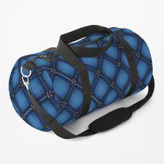 Work Travel, Diamond Pattern, Duffel Bag, Clutches, Print Design, Shoulder Strap, Just For You, Money, Denim