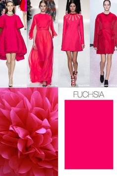 WeConnectFashion Trends| WOMEN'S THINK PINK COLOR F/W 2015-16. TREND COUNCIL, International Trend Forecasting Report For Fashion Business