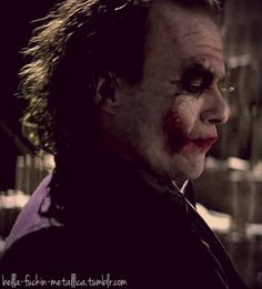 Image shared by Find images and videos about sexy, Hot and heath ledger on We Heart It - the app to get lost in what you love. Batman Comics, Dc Comics, Everything Burns, Joker Heath, Heath Ledger Joker, Joker Pics, The Dark Knight Trilogy, Dark Night, Jared Leto