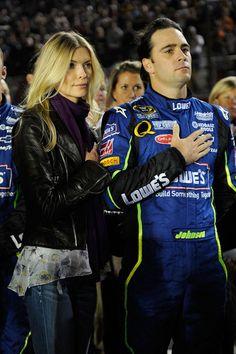 jimmie and chandra johnson | Chandra Janway Johnson is NASCAR Jimmie Johnson's Wife