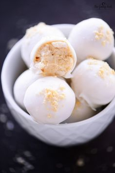 Eggnog Truffles are no bake, holiday cookies that are delicious and easy to make. Add them to your Christmas baking list for when your oven is full!